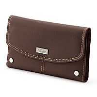Buxton Westcott Leather Checkbook Wallet
