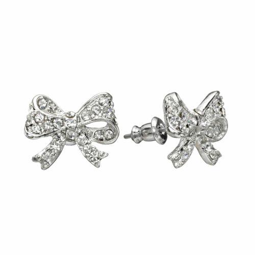 LC Lauren Conrad Bow Stud Earrings