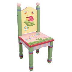 Teamson Kids Fantasy Fields Magic Garden Table & Chairs Set