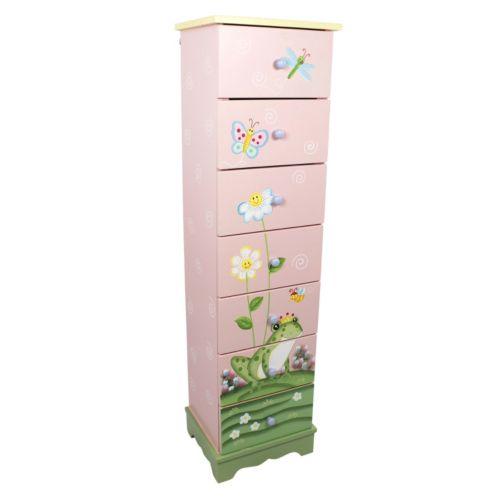 Teamson Kids Magic Garden 7-Drawer Cabinet