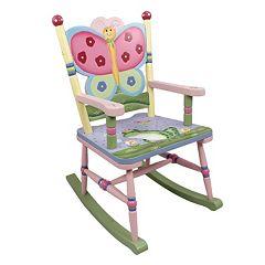 Teamson Kids Fantasy Fields Magic Garden Rocking Chair