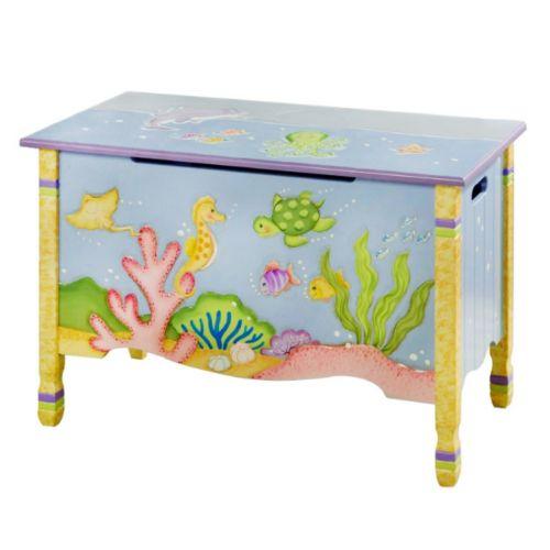 Teamson Kids Fantasy Fields Under The Sea Toy Box