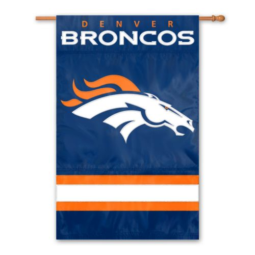 Denver Broncos Two-Sided Flag