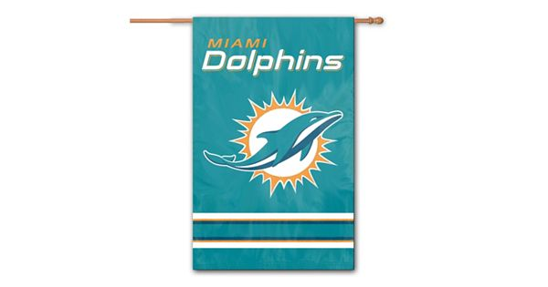 Kohls Wedding Registry Gift Card : Miami Dolphins Two-Sided Flag