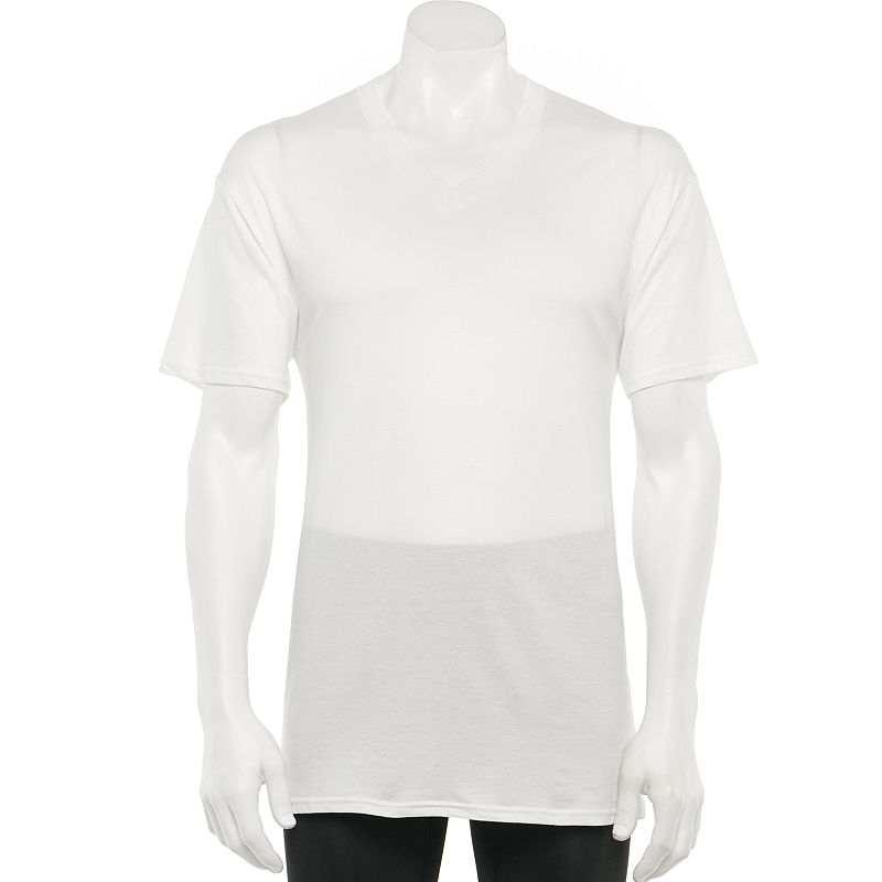 Men's Croft & Barrow® 6-pk. V-Neck Tee