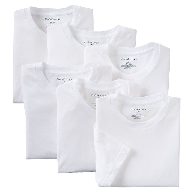 Men's Croft & Barrow® 6-pk. Tee