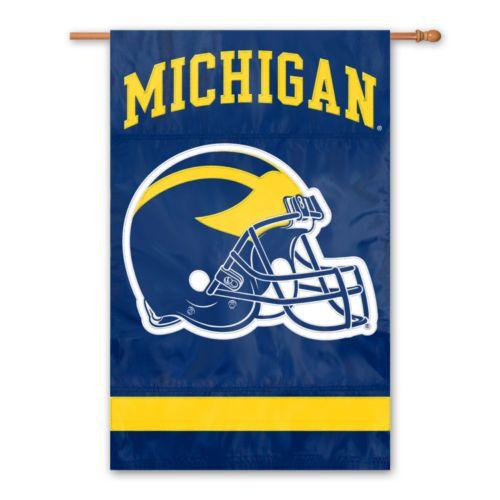Michigan Wolverines Banner Flag