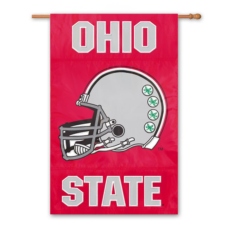 Ohio State Buckeyes Red Banner Flag