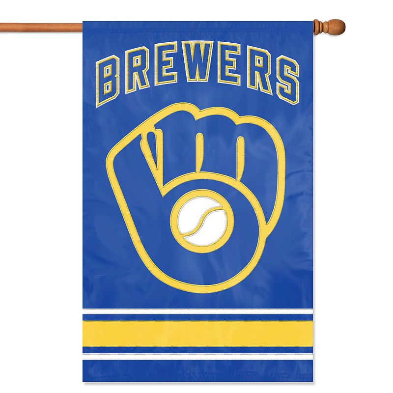 Milwaukee Brewers Banner Flag