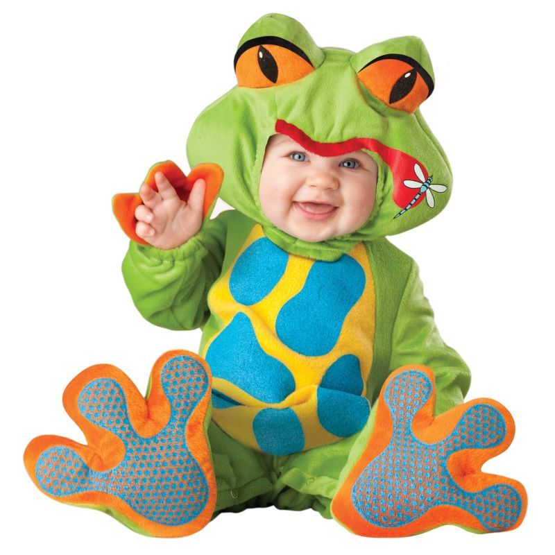 Lil' Froggy Costume - Baby/Toddler (Blue)