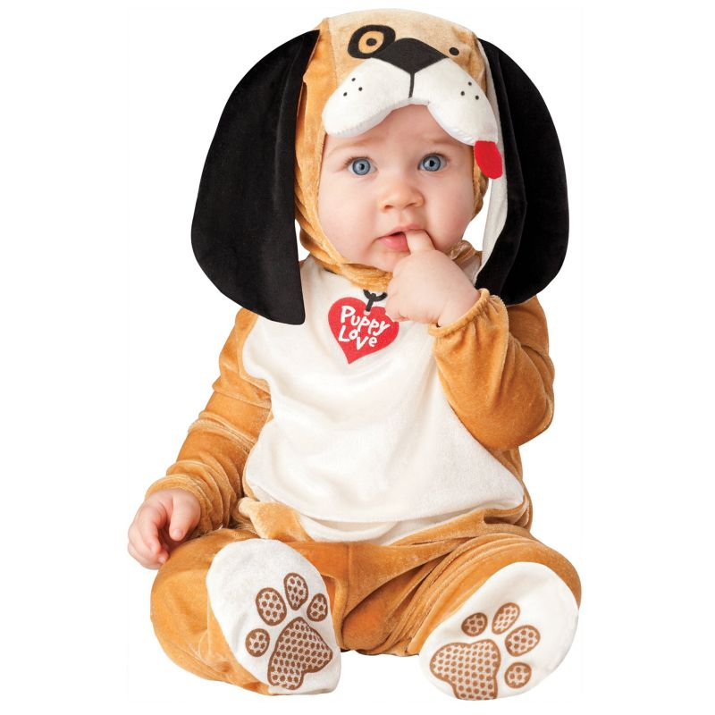 Puppy Love Costume - Baby/Toddler (Blue)