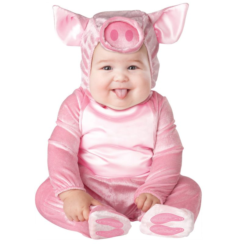 Lil' Piggy Costume - Baby/Toddler (Blue)