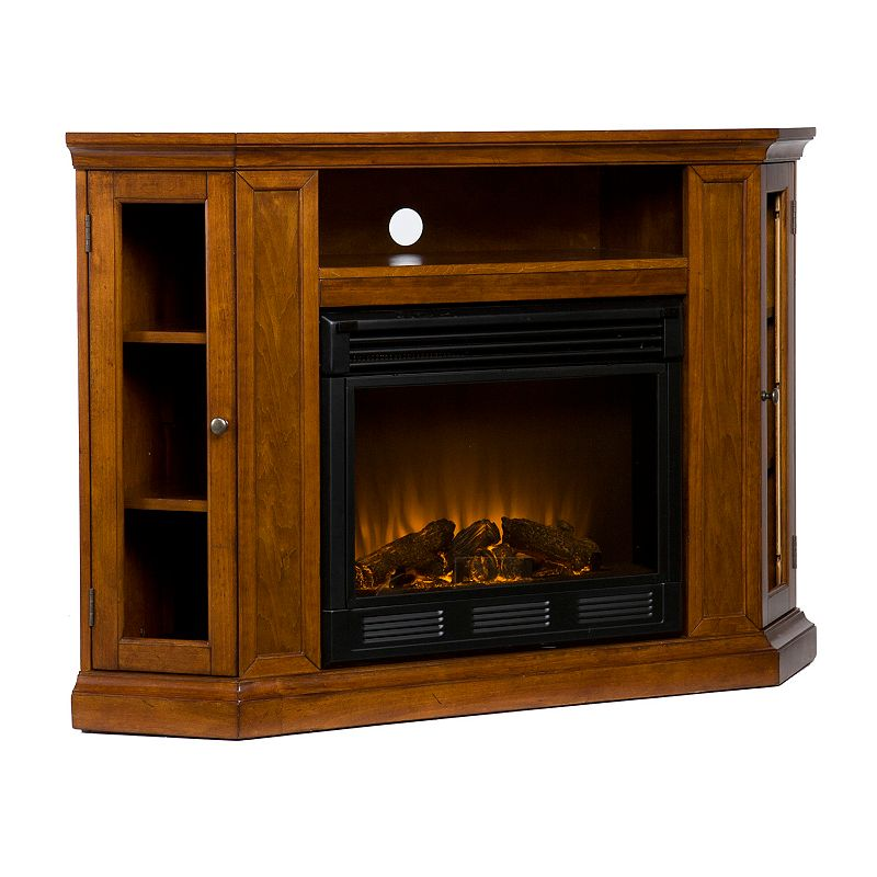 Small corner electric fireplace electric fireplace reviews - Space saving corner electric fireplace providing warmth for your small space ...