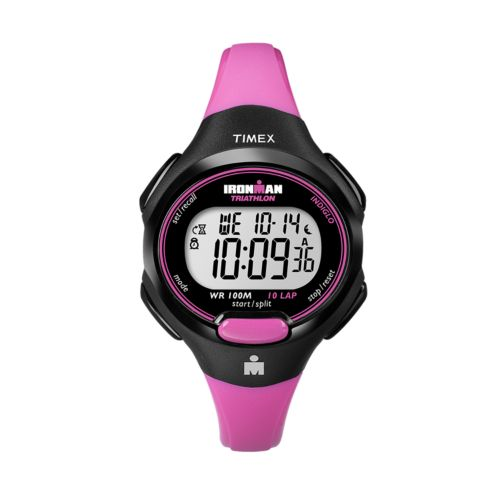 Timex Watch - Women's Ironman 10-Lap Resin Digital Chronograph - T5K5259J