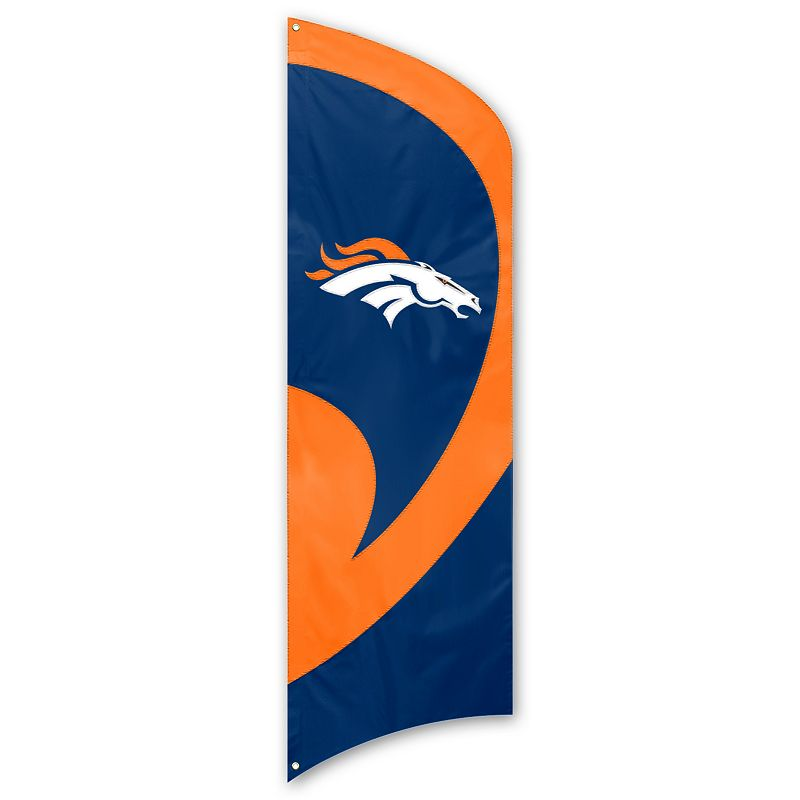 Denver Broncos Tall Team Flag
