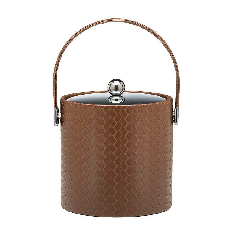 San Remo 3-qt. Ice Bucket with Black Lid