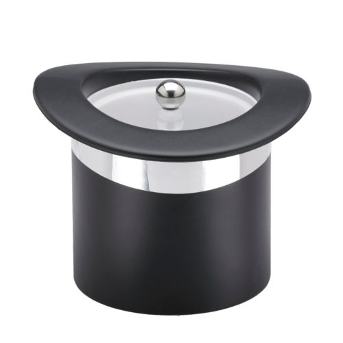 Black Top Hat 3-qt. Ice Bucket