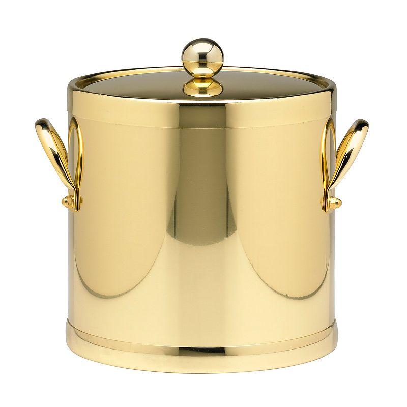 Side-Handle Metal Ice Bucket