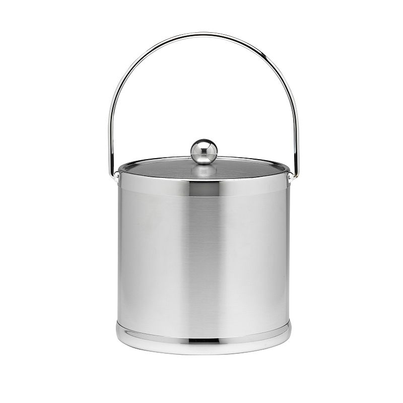 Stainless Steel 3-qt. Ice Bucket