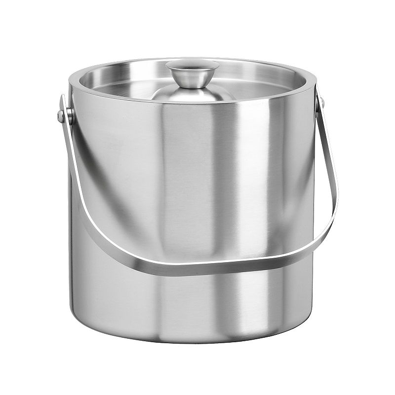 Stainless Steel 2 1/2-qt. Ice Bucket