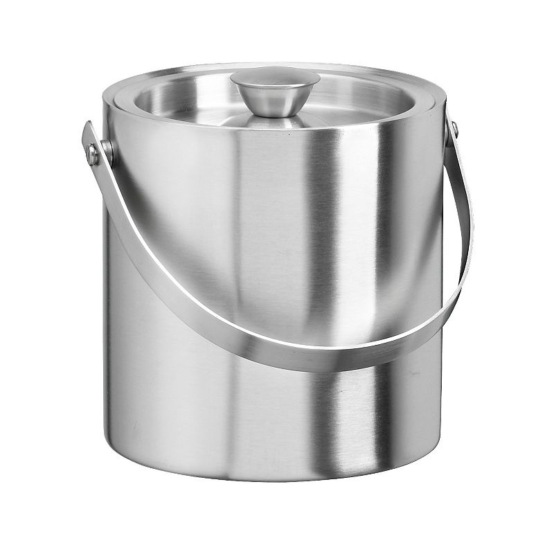 Stainless Steel 1 1/2-qt. Ice Bucket