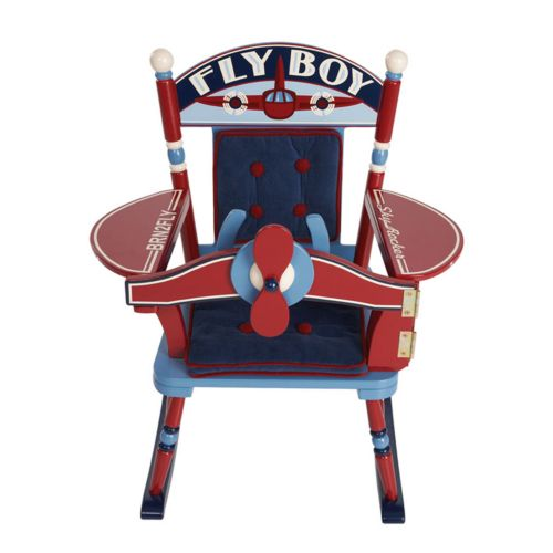 Levels of Discovery Fly Boy Airplane Rocking Chair