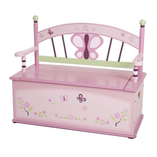CoCaLo Sugar Plum Storage Bench by Levels of Discovery