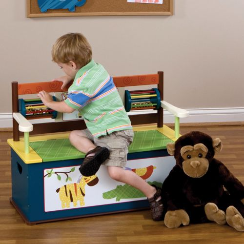 CoCaLo Baby Jungle Jingle Storage Bench by Levels of Discovery