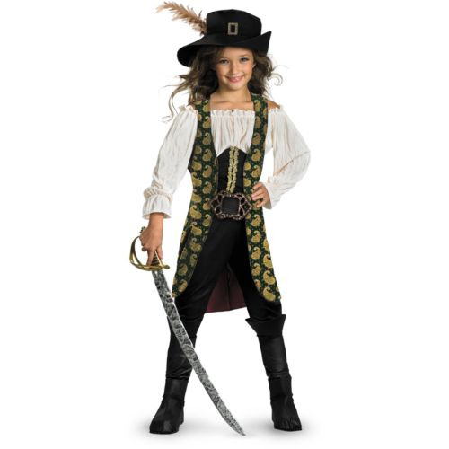 Disney Pirates of the Caribbean 4: On Stranger Tides Angelica Deluxe Costume - Kids