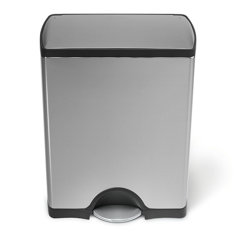 simplehuman 13-Gallon Rectangular Step Trash Can