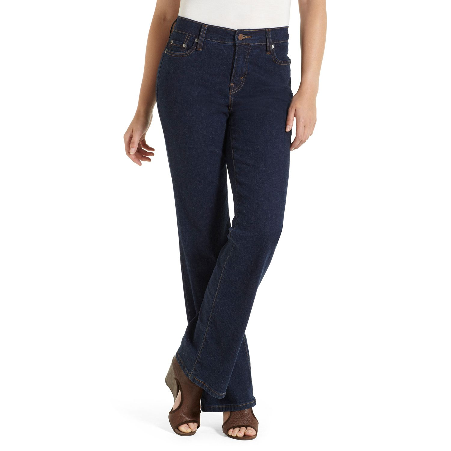 Womens Levis 512 Perfectly Slimming Bootcut Jeans