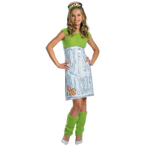 Sesame Street Oscar the Grouch Costume - Girls