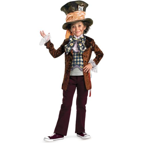 Disney Alice in Wonderland Mad Hatter Costume - Kids