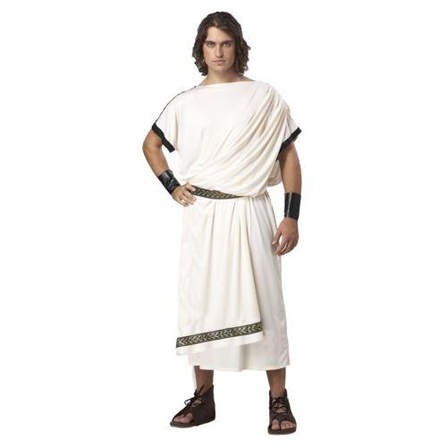 Deluxe Classic Toga Costume - Adult