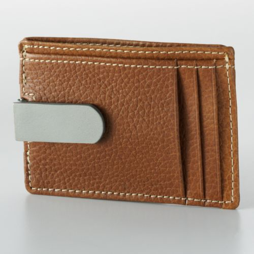 Buxton Leather Front Pocket Wallet