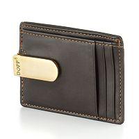 DOPP Leather Front Pocket Money Clip Wallet