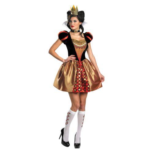 Disney Alice In Wonderland Red Queen Costume - Adult