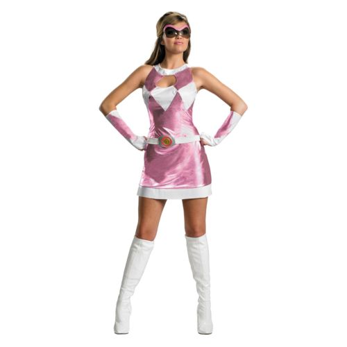 Mighty Morphin Power Rangers Pink Ranger Deluxe Costume - Adult