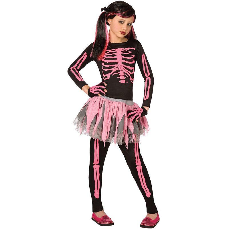 Punk Skeleton Costume - Kids