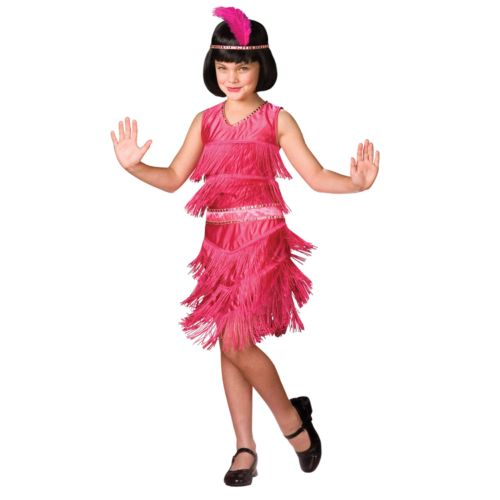 Pink Flapper Costume - Kids
