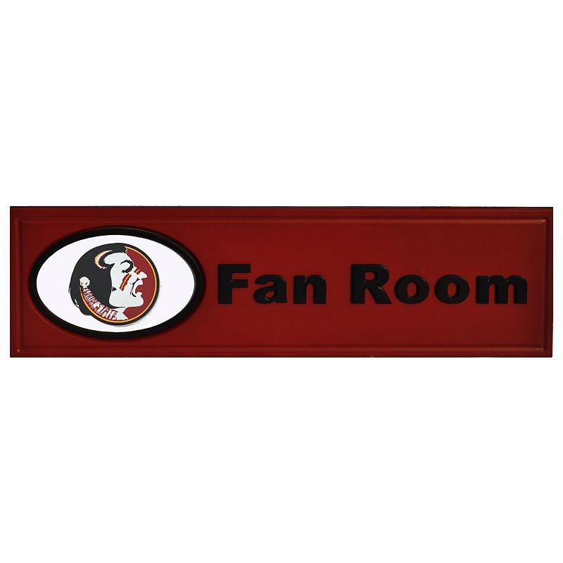 Florida State Seminoles Fan Room Sign Fsu Team