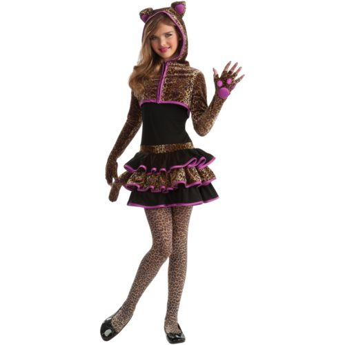 Leopard Costume - Girls'