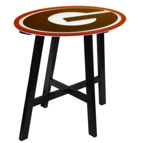 Georgia Bulldogs Wooden Pub Table