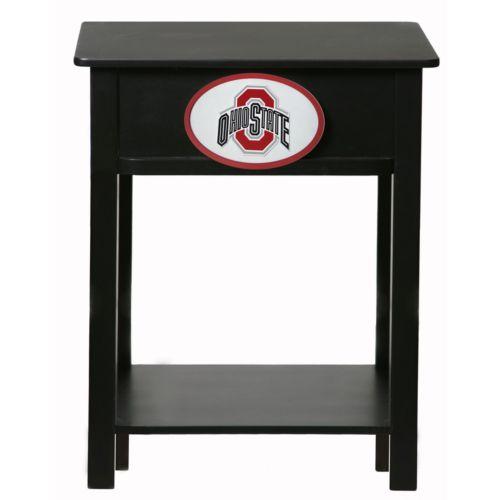 Ohio State Buckeyes Birch Side Table