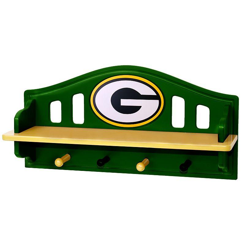Green Bay Packers Wooden Shelf