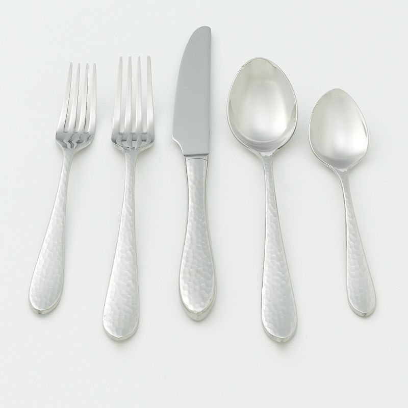 Ginkgo Starlight 18/10 Stainless Steel 20-pc. Flatware Set