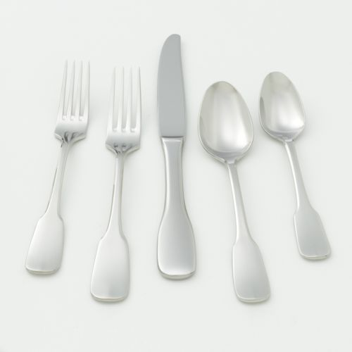 Ginkgo Alsace 18/10 Stainless Steel 20-pc. Flatware Set