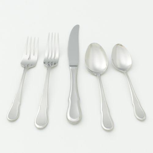 Ginkgo Celine 18/10 Stainless Steel 20-pc. Flatware Set