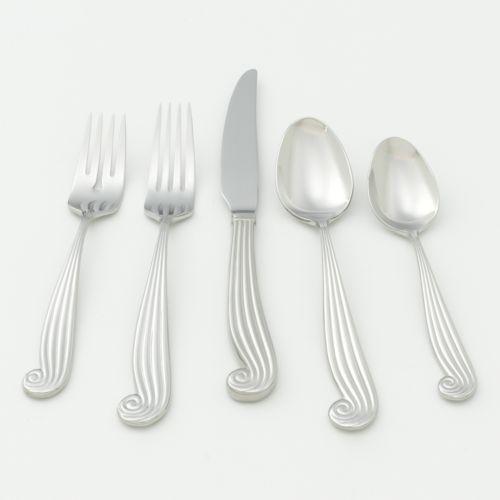 Ginkgo La Mer 18/10 Stainless Steel 20-pc. Flatware Set