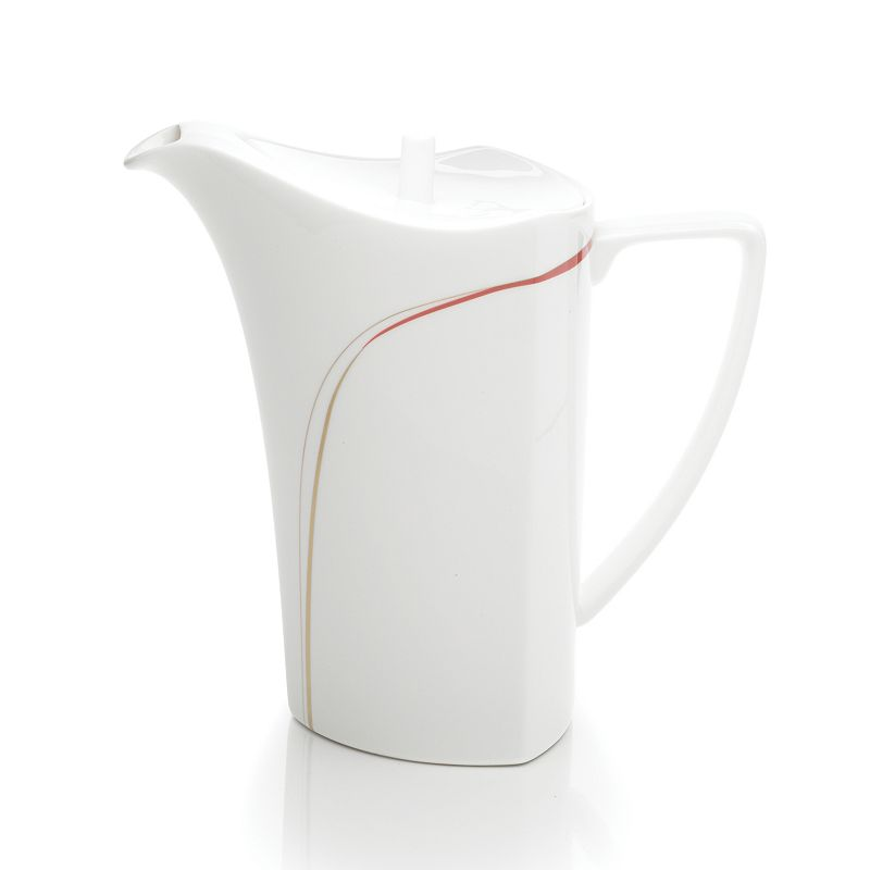 Mikasa Modernist Red Coffee Server